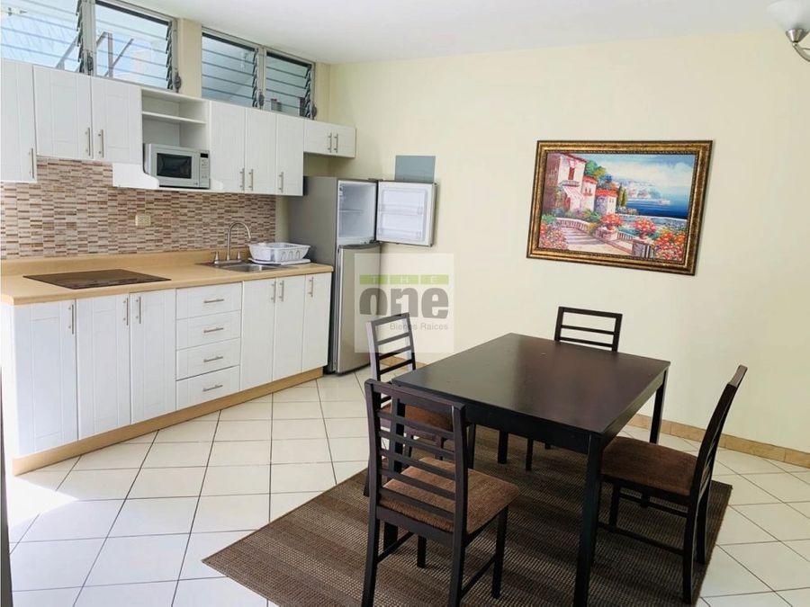 zona 10 alquilo apartamento de 1 dormitorio 75 mts2