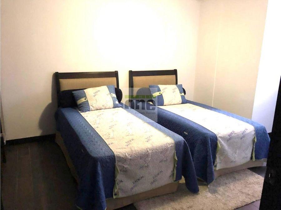 zona 14 apartamento amueblado de 3 dormitorios