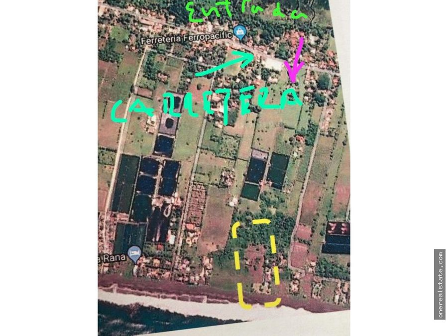 puerto iztapa vendo terreno de 3317 varas