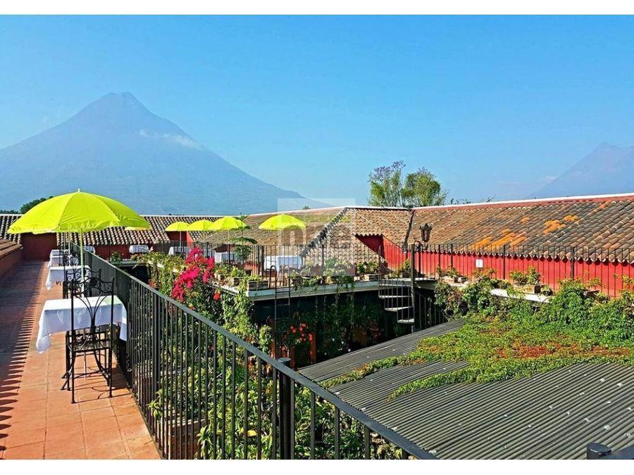 antigua guatemala hotel de lujo en venta
