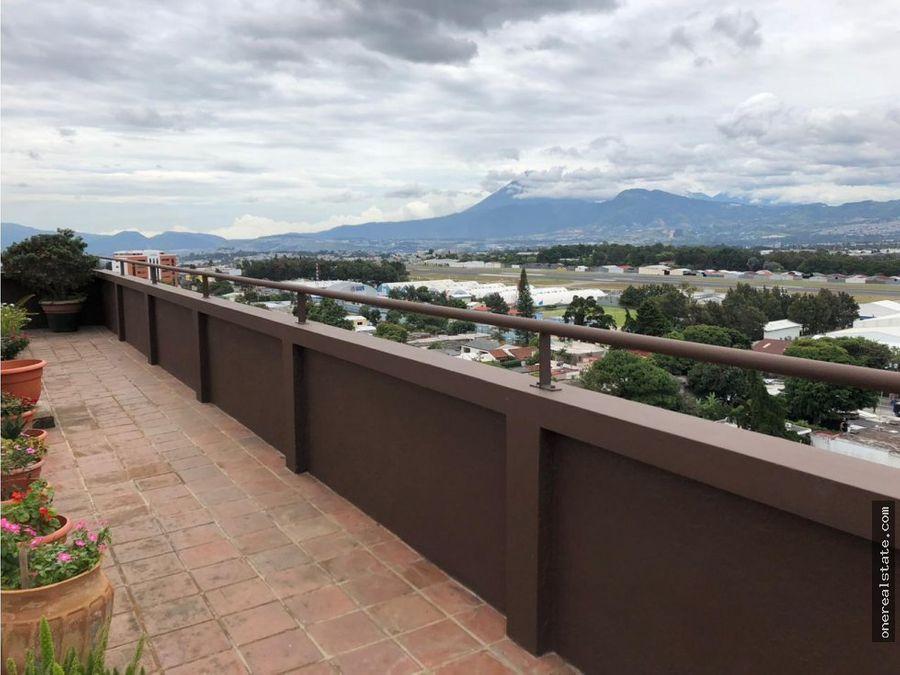 zona 13 penthouse de 436 metros