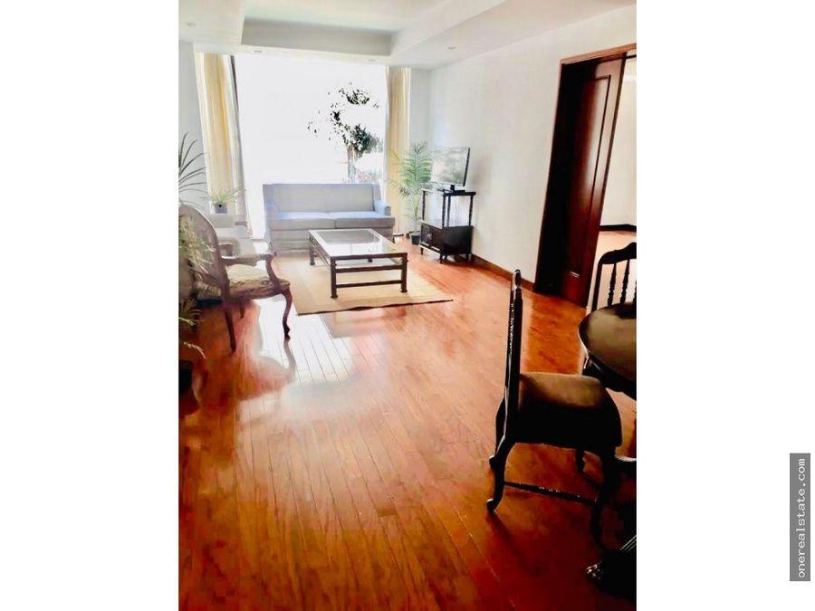 zona 14 apartamento amueblado de 1 dormitorio