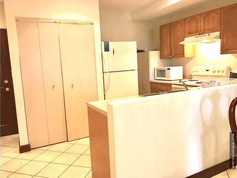 zona 10 apartamento amueblado 2 dormitorios