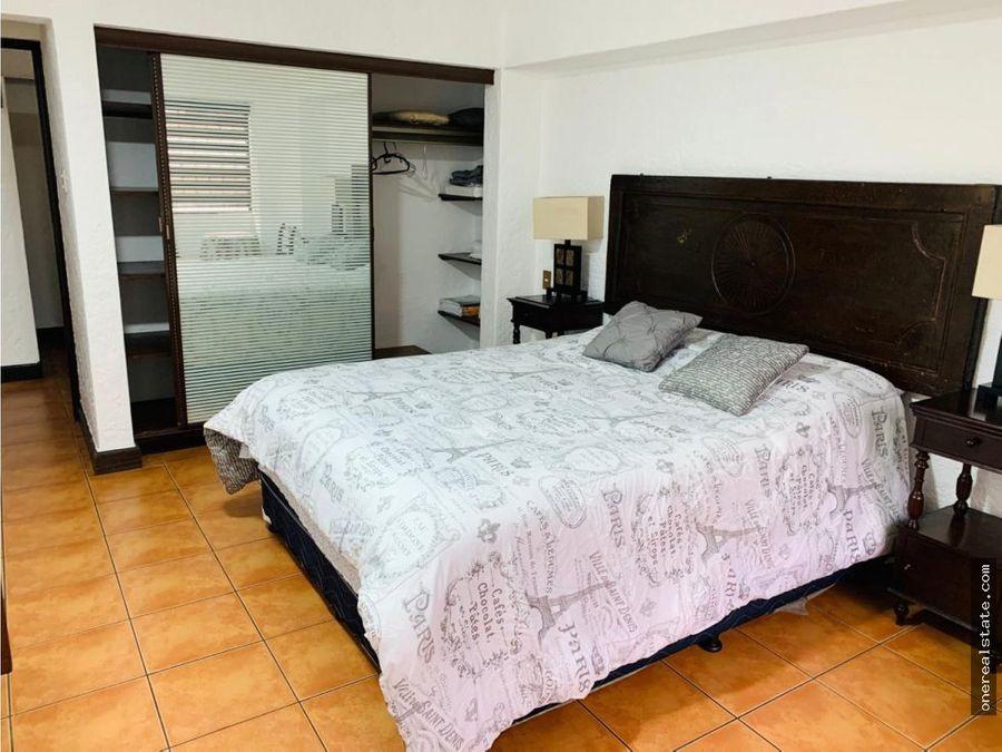zona 10 apartamento 1 dormitorio amueblado