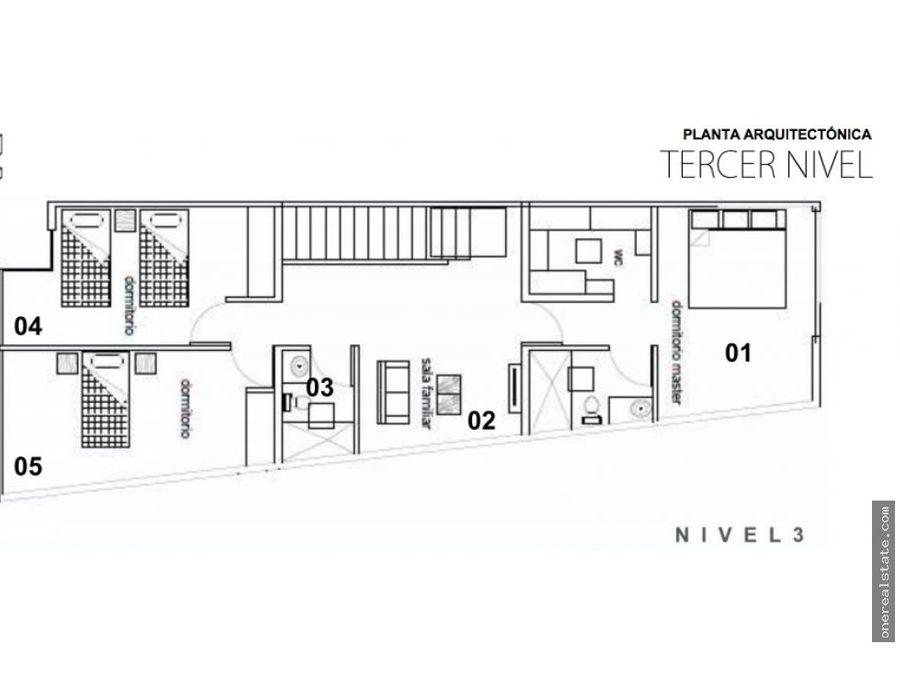 zona 10 oakland alquilo town house de 3 niveles