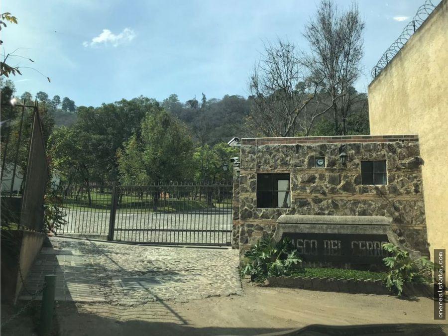 antigua guatemala casco del cerro