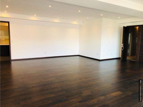 zona 14 apartamento para estrenar de 320 mts2