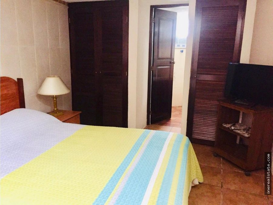 zona 10 amueblado de 1 dormitorio