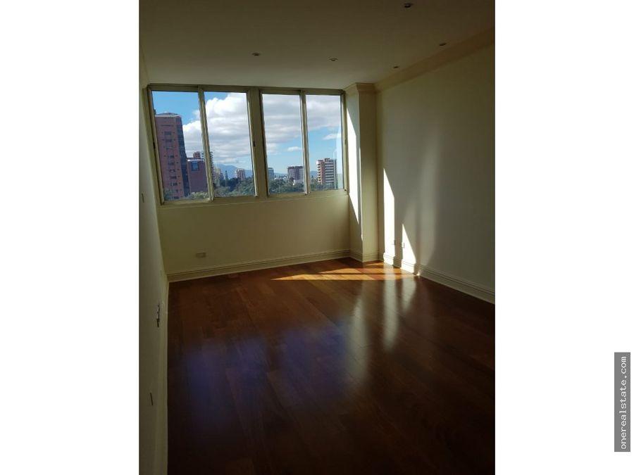 zona 14 alquilo amplio apartamento de 302 mts2