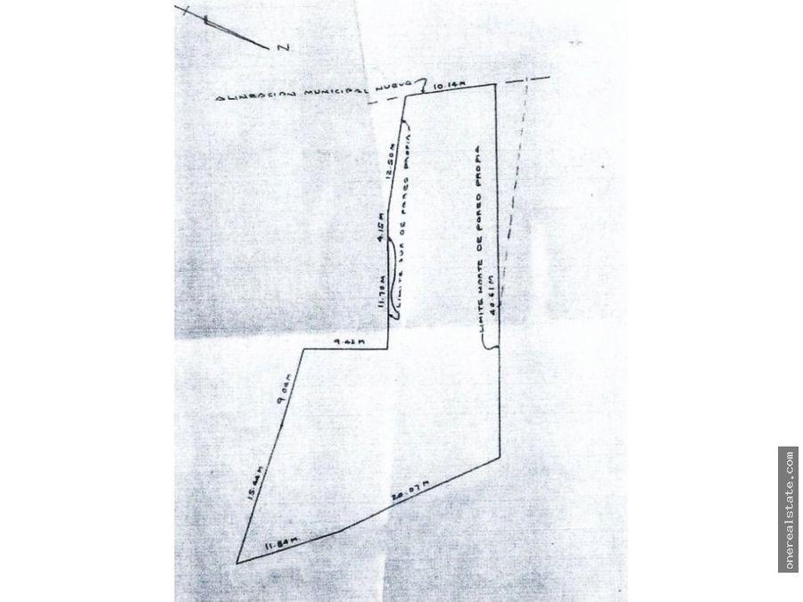 zona 10 vendo terreno de 1142 vrs
