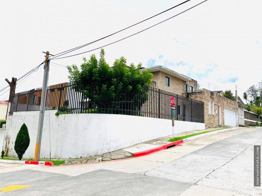 km 19 los manantiales casa en venta