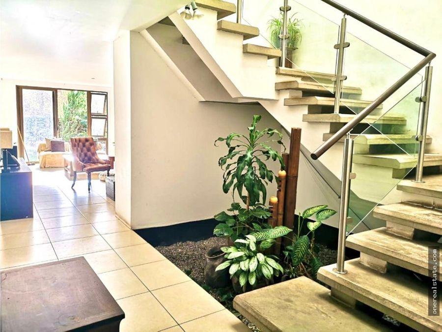 zona 16 jardines de san isidro casa en alquiler
