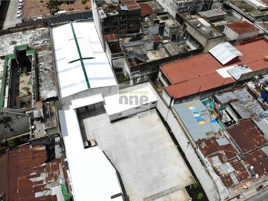 zona 1 local con bodega sobre la 18 calle de 483 metros
