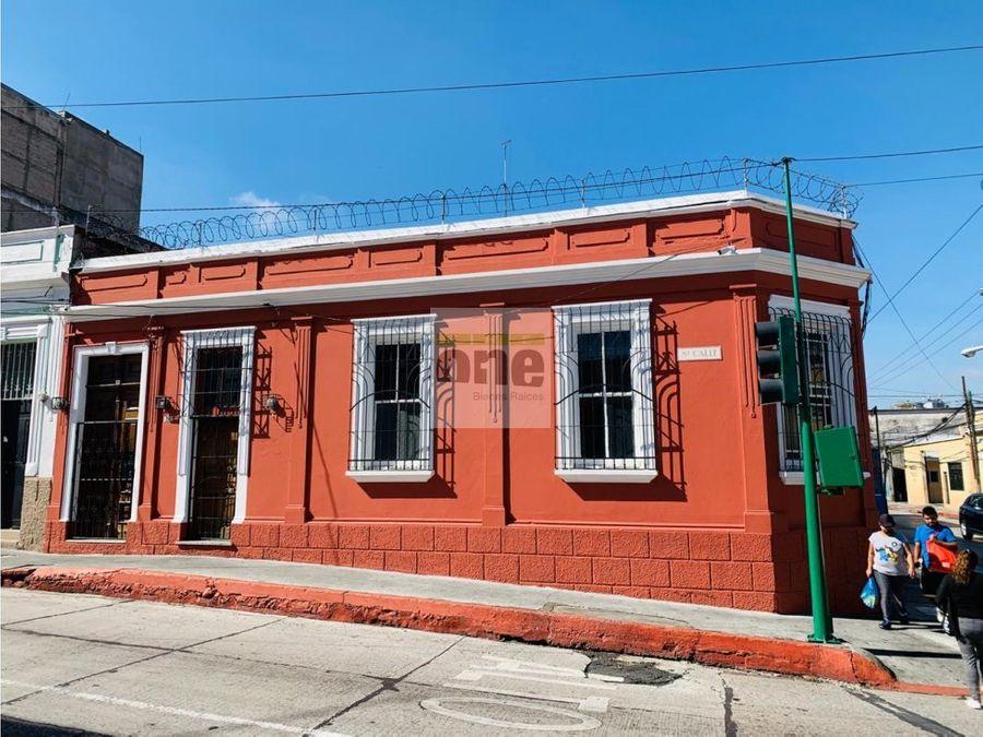 zona 1 alquilo casa para oficina o clinicas