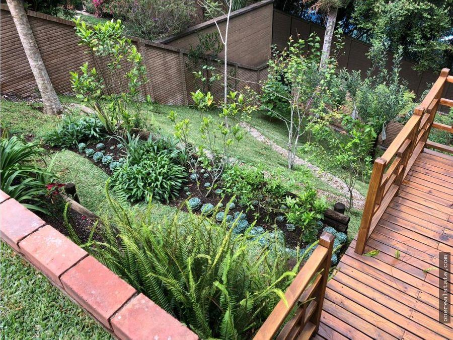 bosques de las luces alquilo casa con jardin
