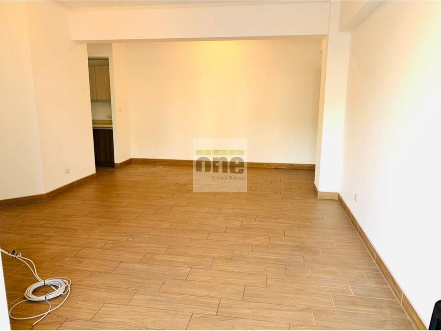 zona 14 garces de la villa apartamento 3 dormitorios
