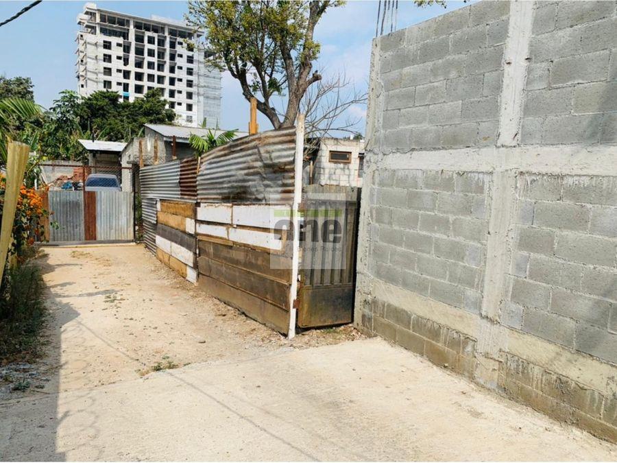 zona 14 la villa vendo terreno de 115 mts