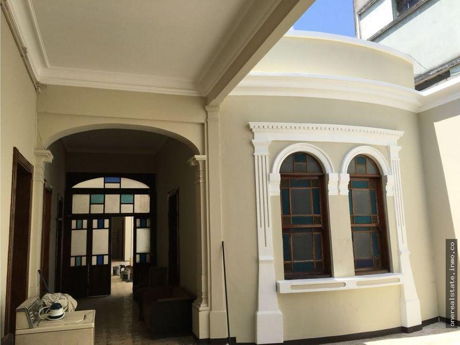 zona 1 vendo casa ideal para oficinas