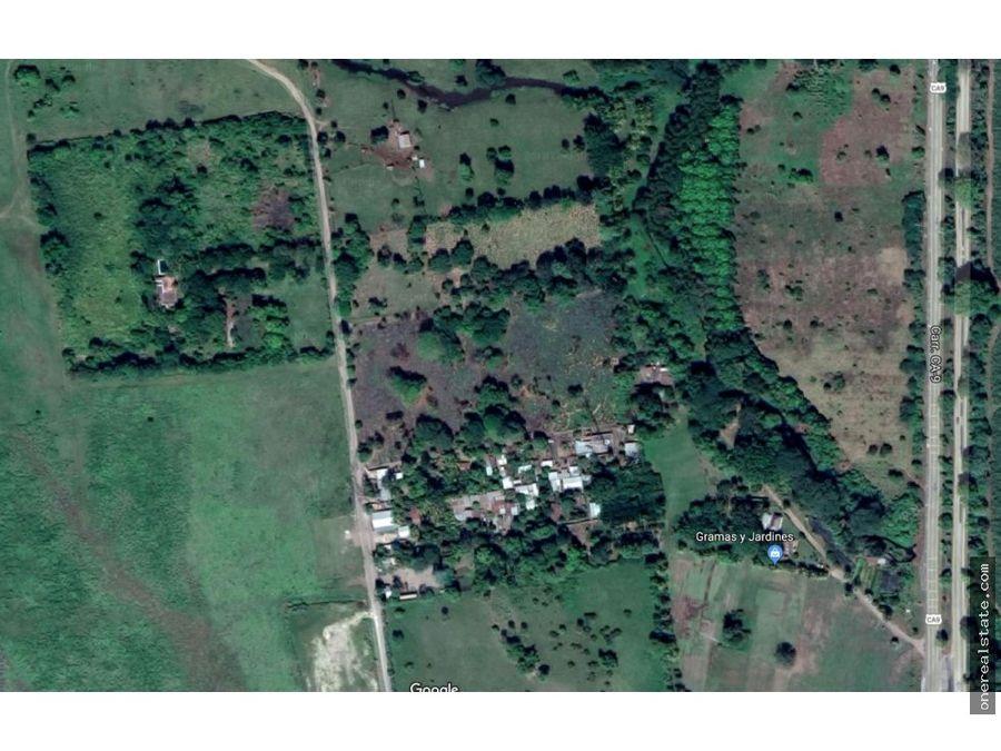 km 98 ruta a puerto quetzal 12 manzanas