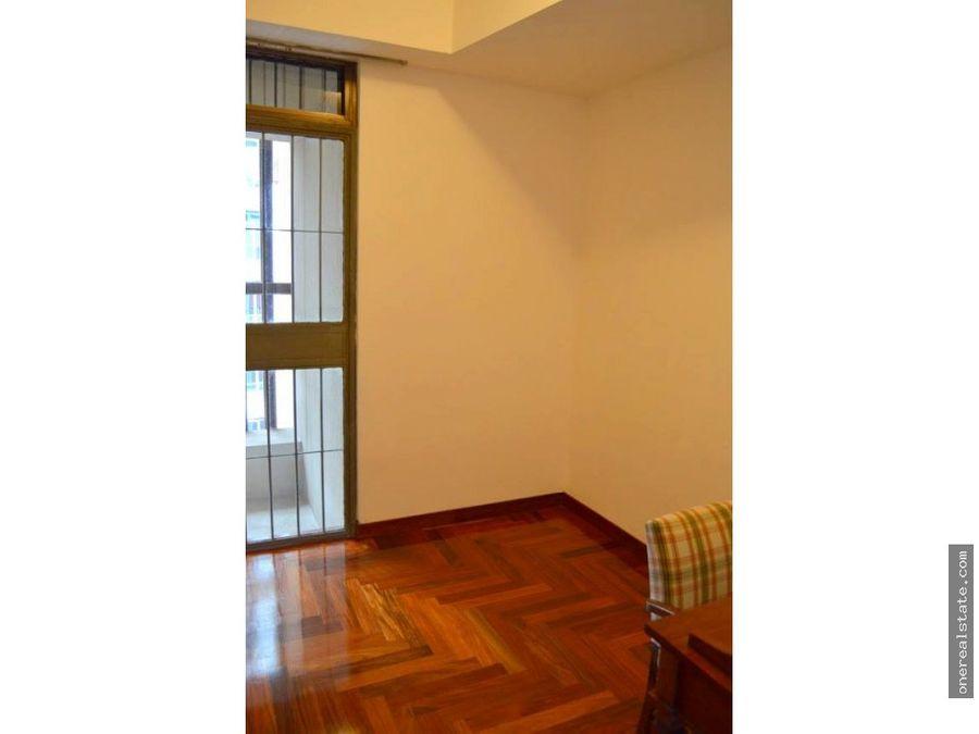 alquilo apartamento de lujo amueblado en zona 10