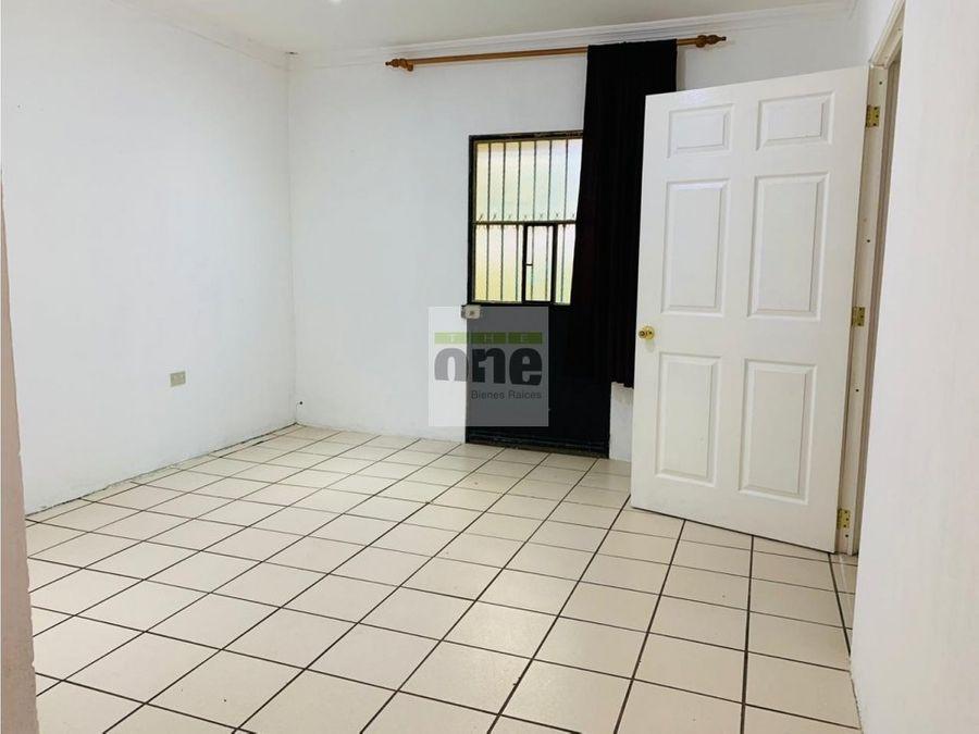 fraijanes casa en venta de 1 nivel
