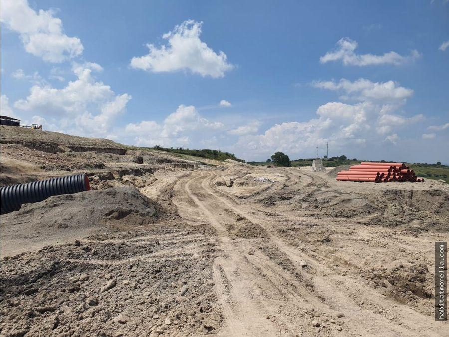 terrenos frac terrazas del valle por recinto ferrial