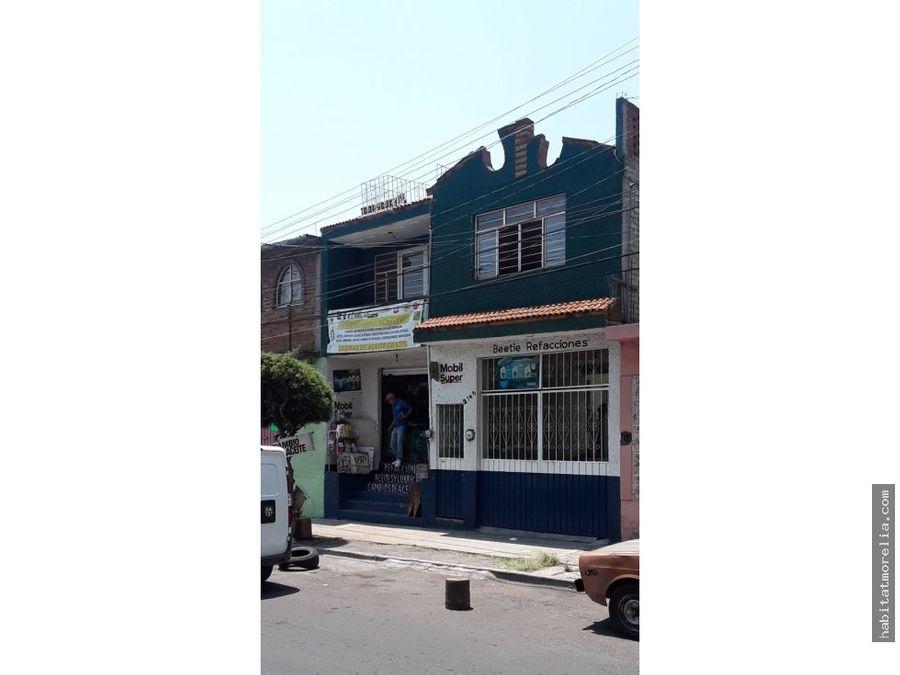 casa con local comercial sobre av pedregal