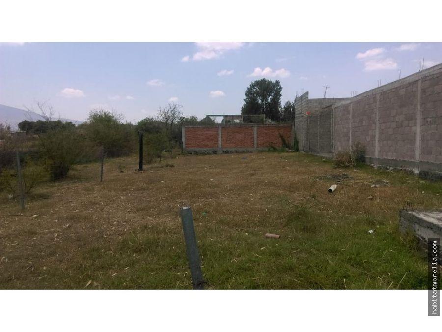 terreno con servicios en san isidro itzicuaro