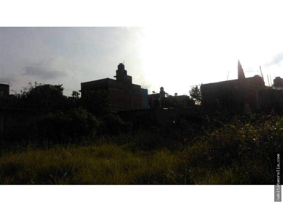 terrenos en nino artillero pproyecto