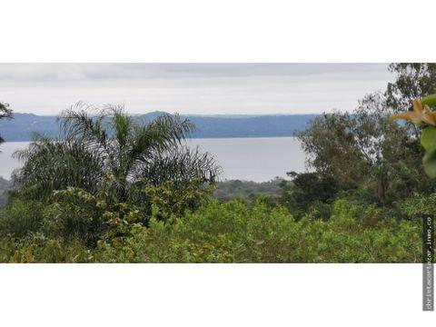 vendo terreno con vista al lago en la ciudad de san bernardino