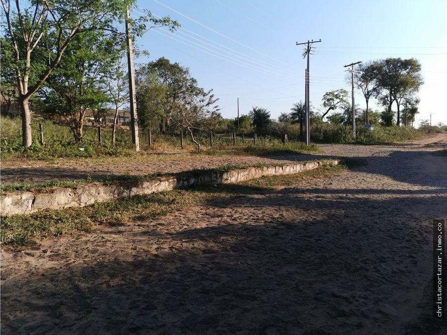 vendo terreno en barrio cerrado camino a altos
