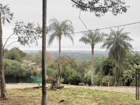 vendo hermoso terreno en barrio cerrado san bernardino