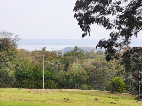 vendo hermoso terreno con vista al lago san bernardino