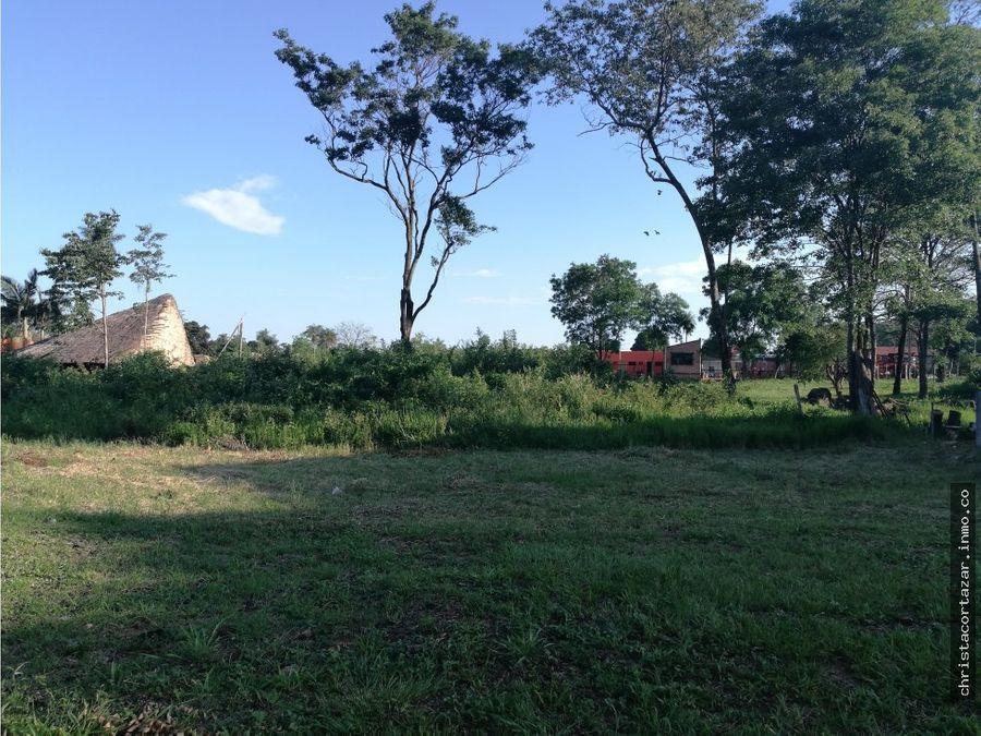 vendo hermoso terreno en caapupe