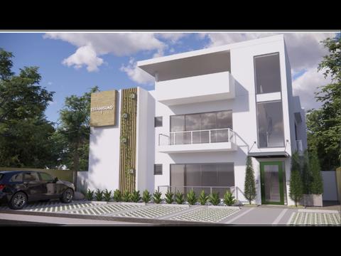 apartamento en segundo nivel con terraza y derecho azotea completa