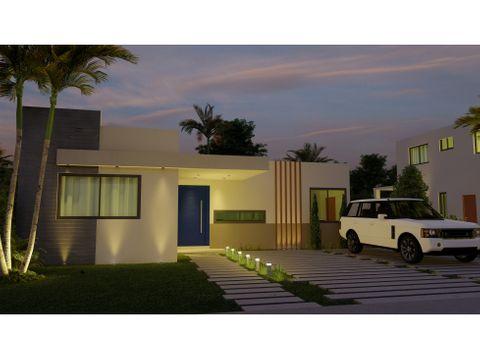 pink villa en la comunidad de vista cana en punta cana