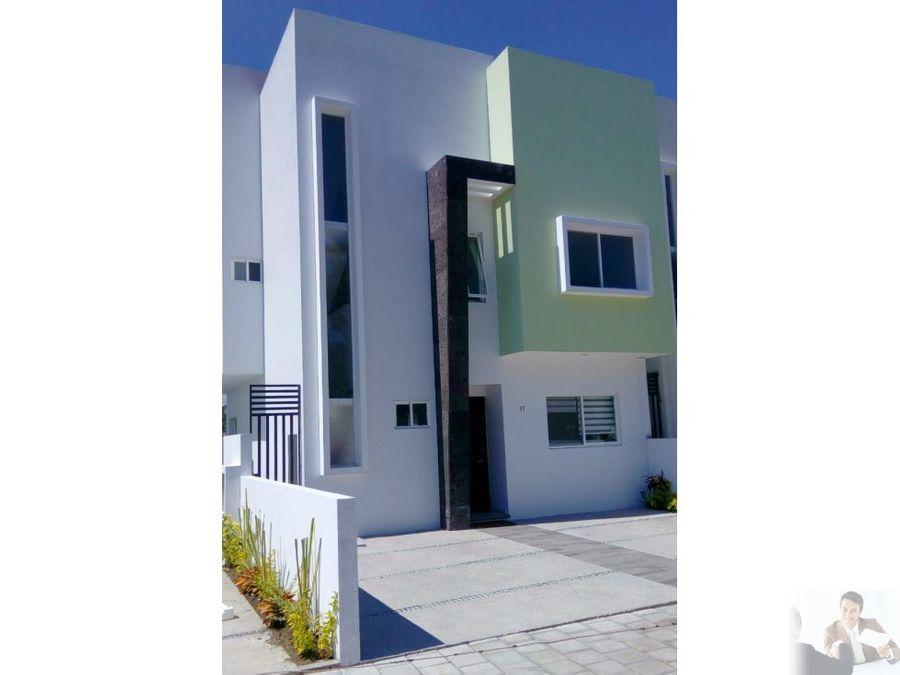 estrena bella casa moderna