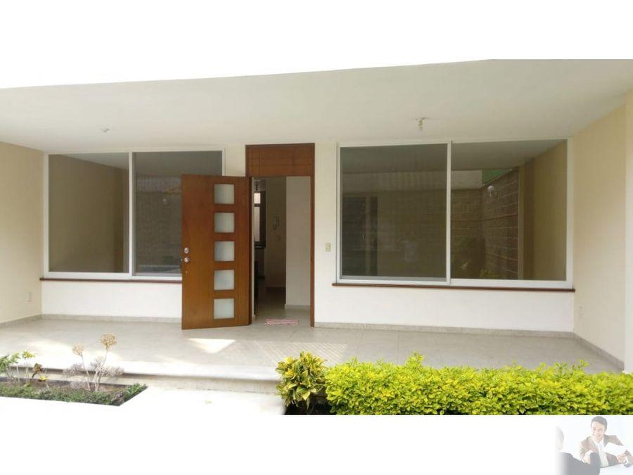 moderna casa ubicada en cuernavaca
