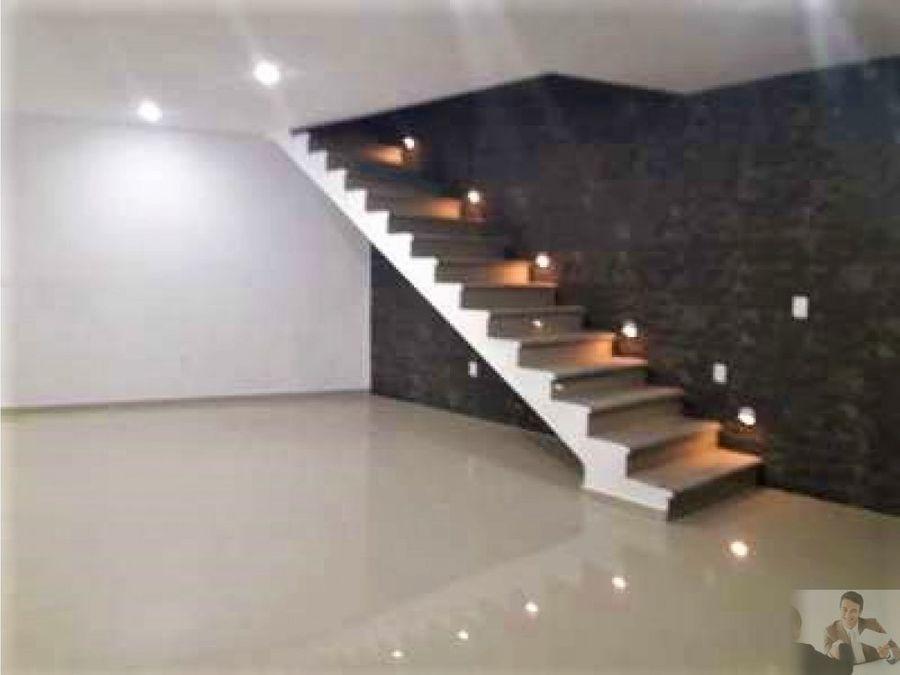 residencia nueva minimalista con vigilancia