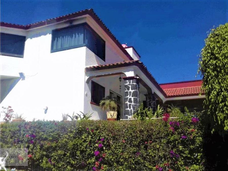 hermosa casa estilo cuernavaca