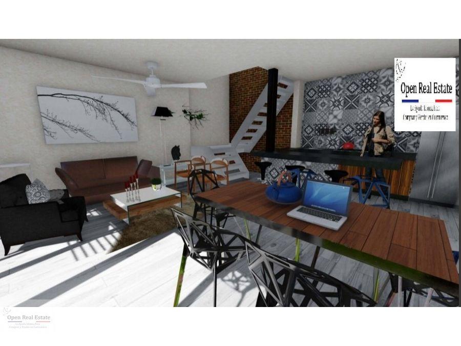 casa estilo new york en privada