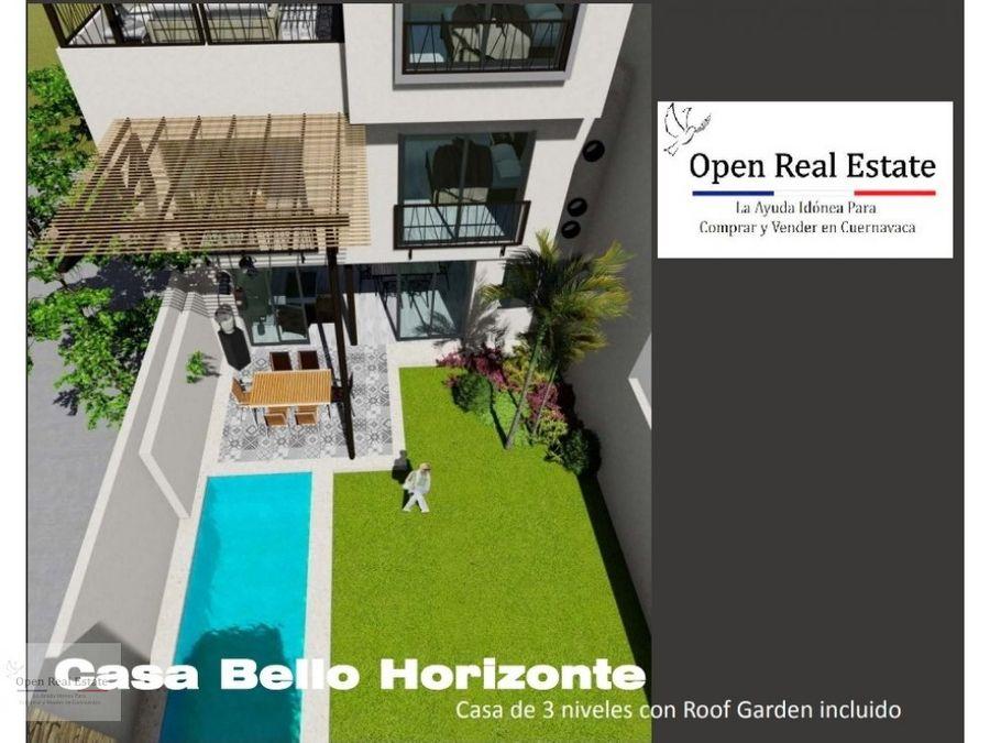 casa estilo new york con roof garden