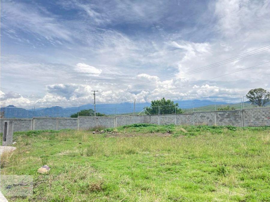 excelente terreno con vig en lomas de cocoyoc