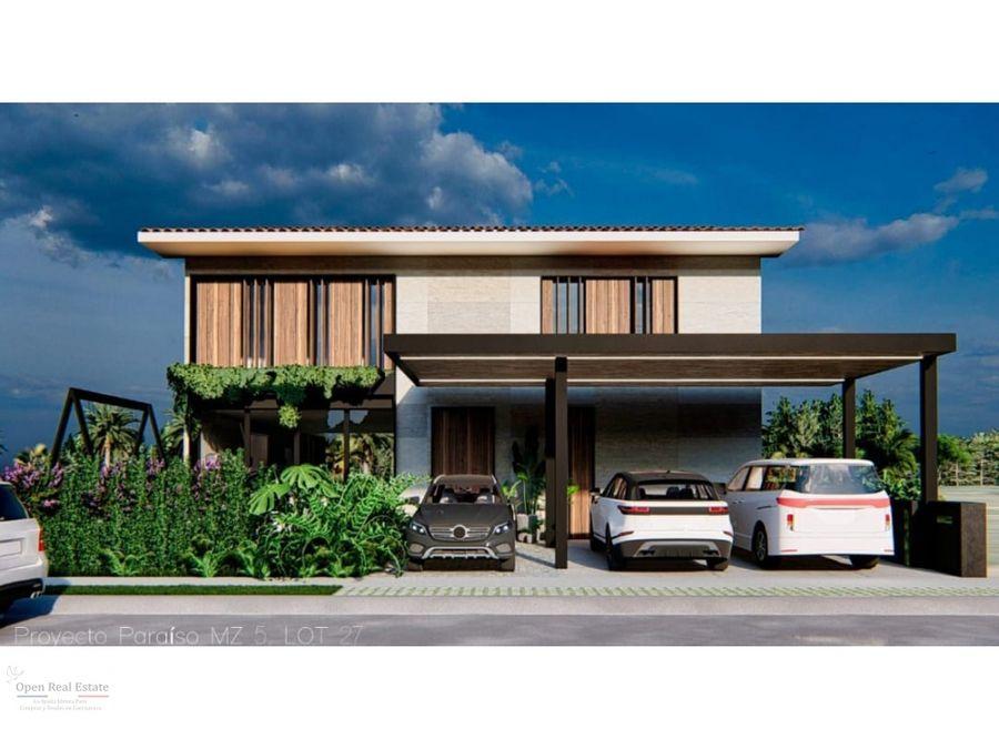 espectacular residencia en paraiso country club aaa