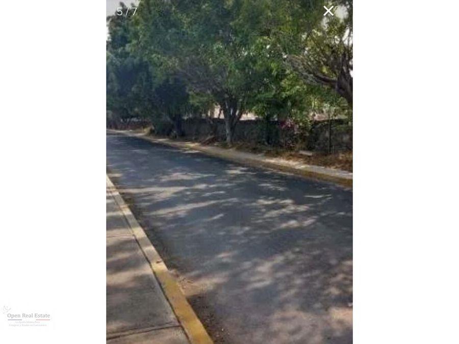 excelente terreno en avenida principal de jiutepec