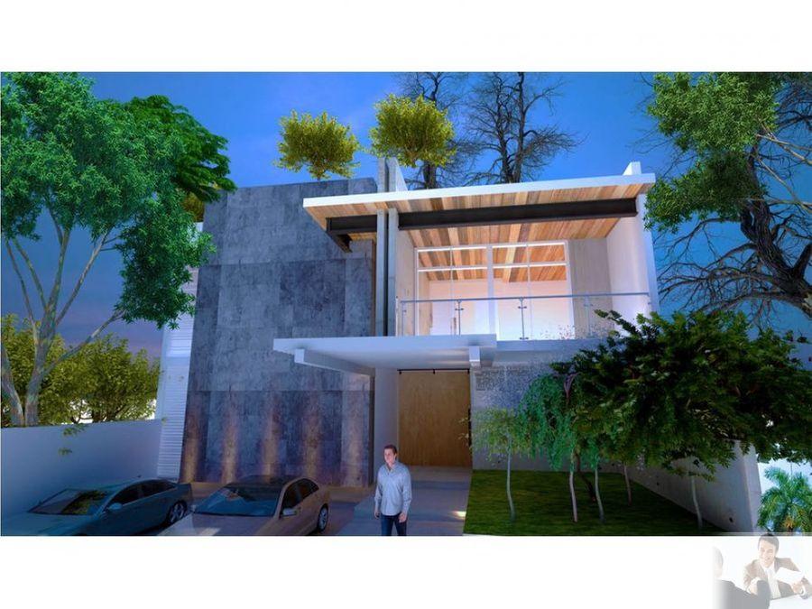 estrena espectacular casa moderna en la cima
