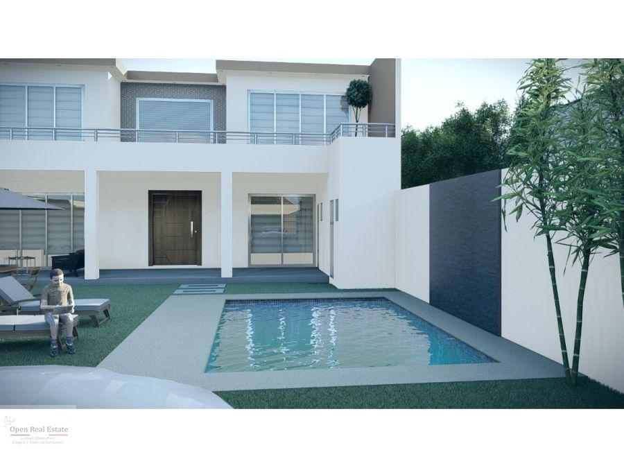 espectacular residencia minimalista en preventa