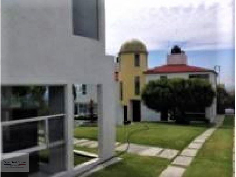 linda casa con vista espectacular en cuernavaca