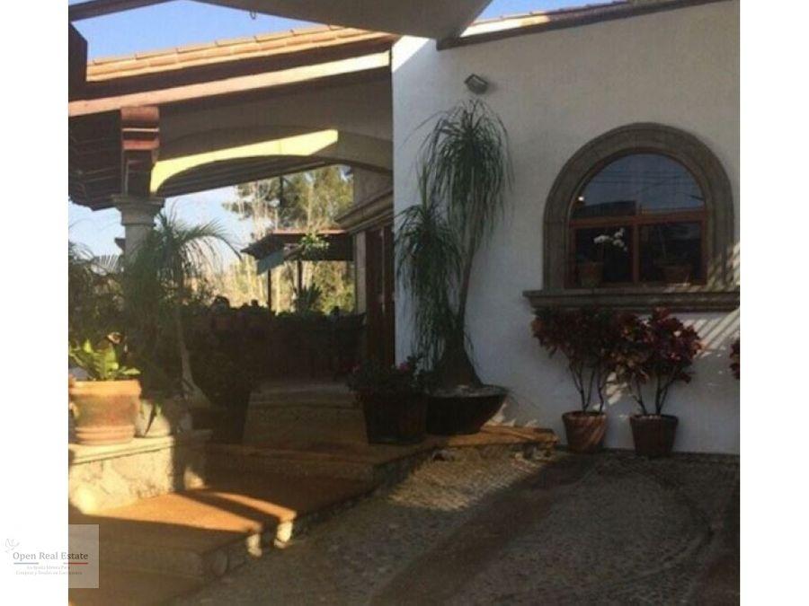 casa panoramica con espectacular vista en cuernavaca