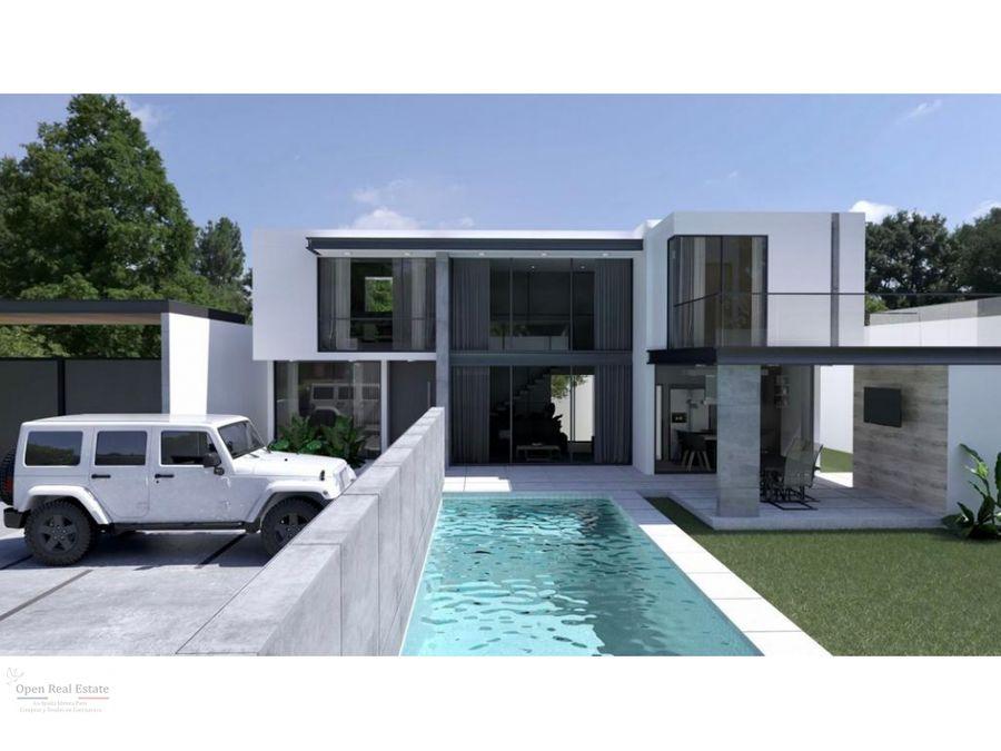 estrena moderna y espectacular casa en excelente zona